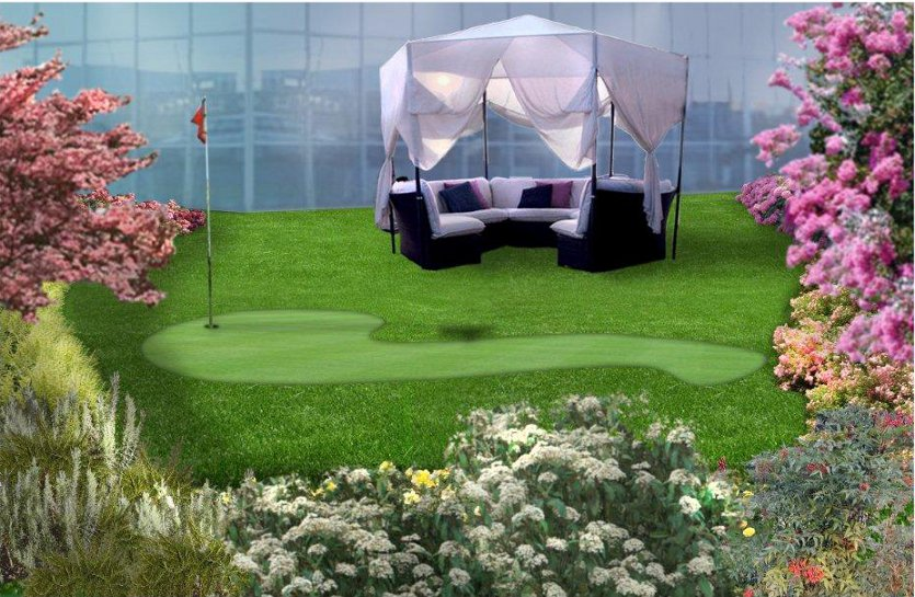 Progettazione e realizzazione giardini arte giardino for Rendering giardino