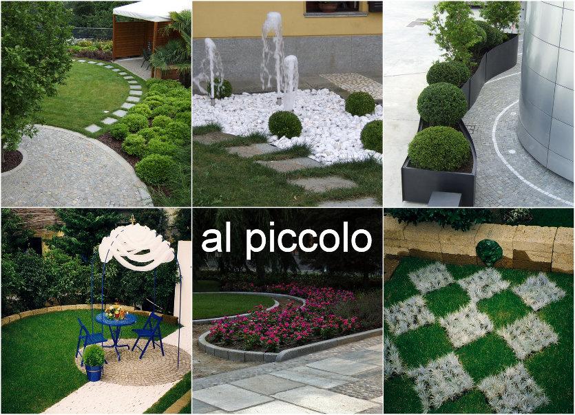 Progettazione piccoli giardini jq56 regardsdefemmes for Piccoli piani casa moderna casetta