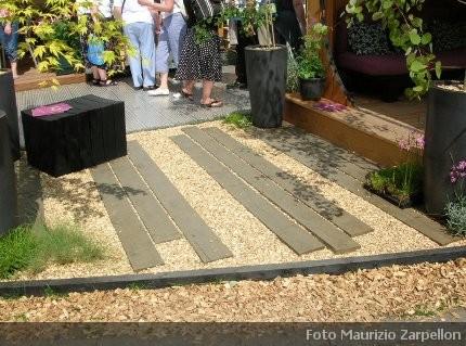 Giardini moderni la progettazione le piante adatte e la for Giardini moderni design